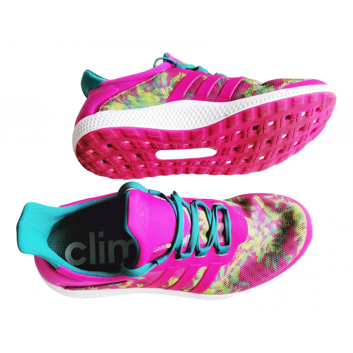 Adidas - Baskets   pour femme en caoutchouc - multicolore