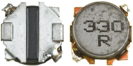 Panasonic , ELL-G Shielded Wire-wound SMD Inductor 4.7 μH ±30% Wire-Wound 1.3A Idc (5)