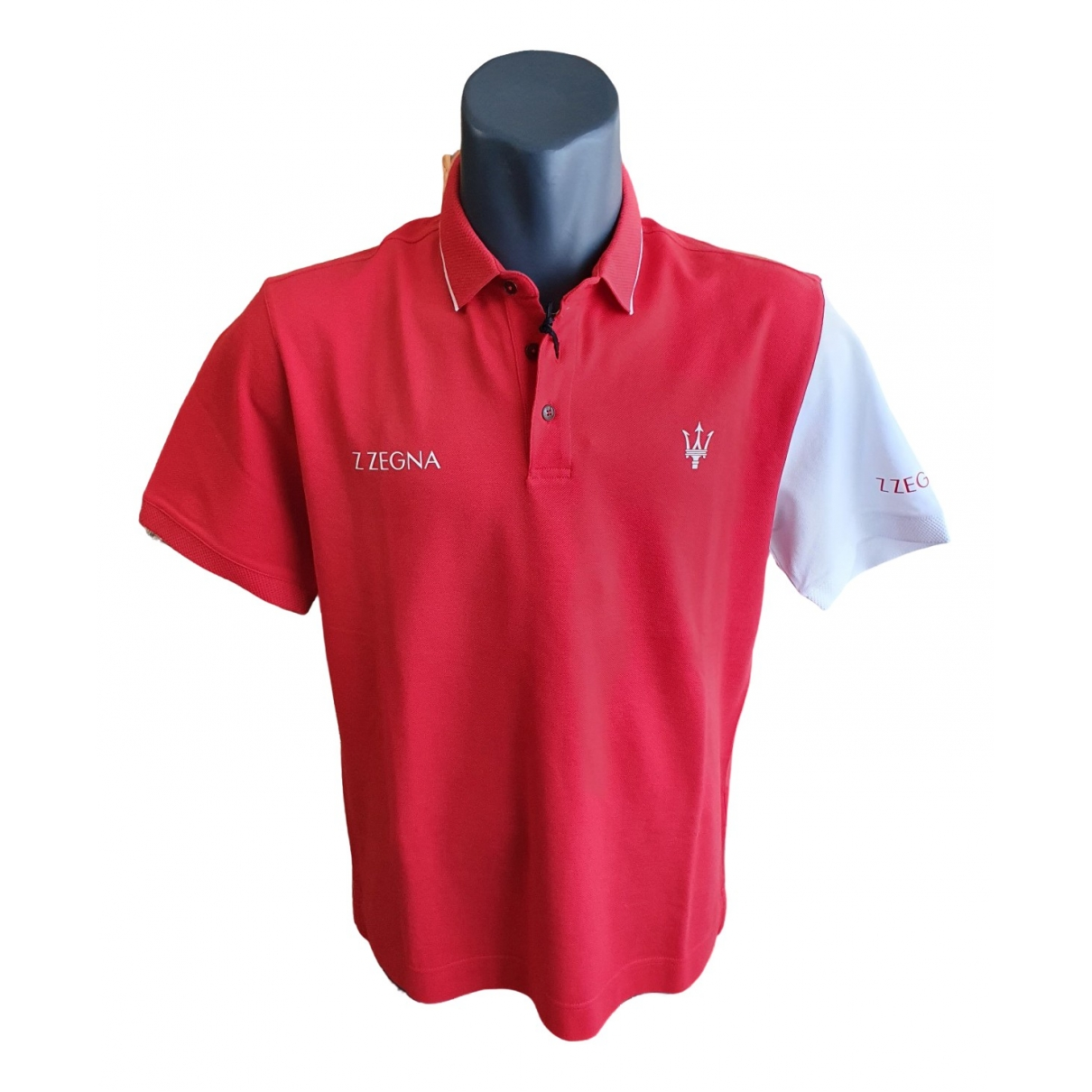Z Zegna \N Poloshirts in  Rot Baumwolle