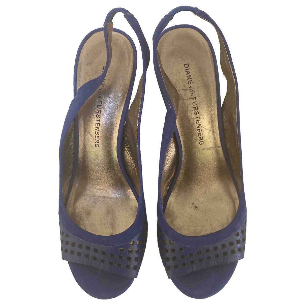 Sandalias romanas de Cuero Diane Von Furstenberg