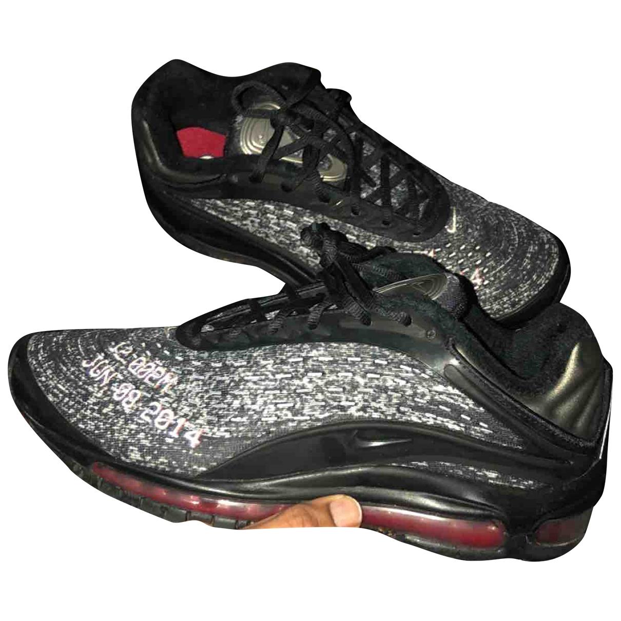 Nike - Baskets Air Max Deluxe pour homme en toile - noir