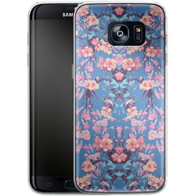 Samsung Galaxy S7 Edge Silikon Handyhuelle - Ornamental Love von Zala Farah
