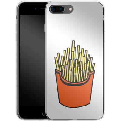 Apple iPhone 7 Plus Silikon Handyhuelle - Fries von caseable Designs