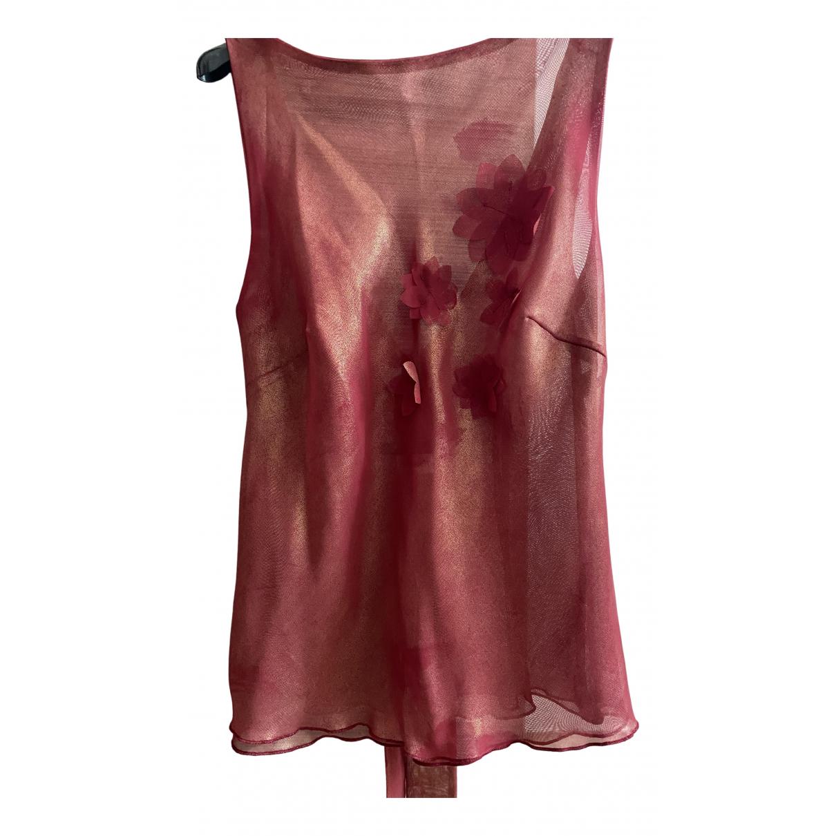 Cristaseya - Top   pour femme - rouge