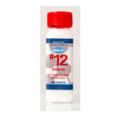 NuAge Tissue Salts Silicea 6X 125 tabs by NuAge Laboratories