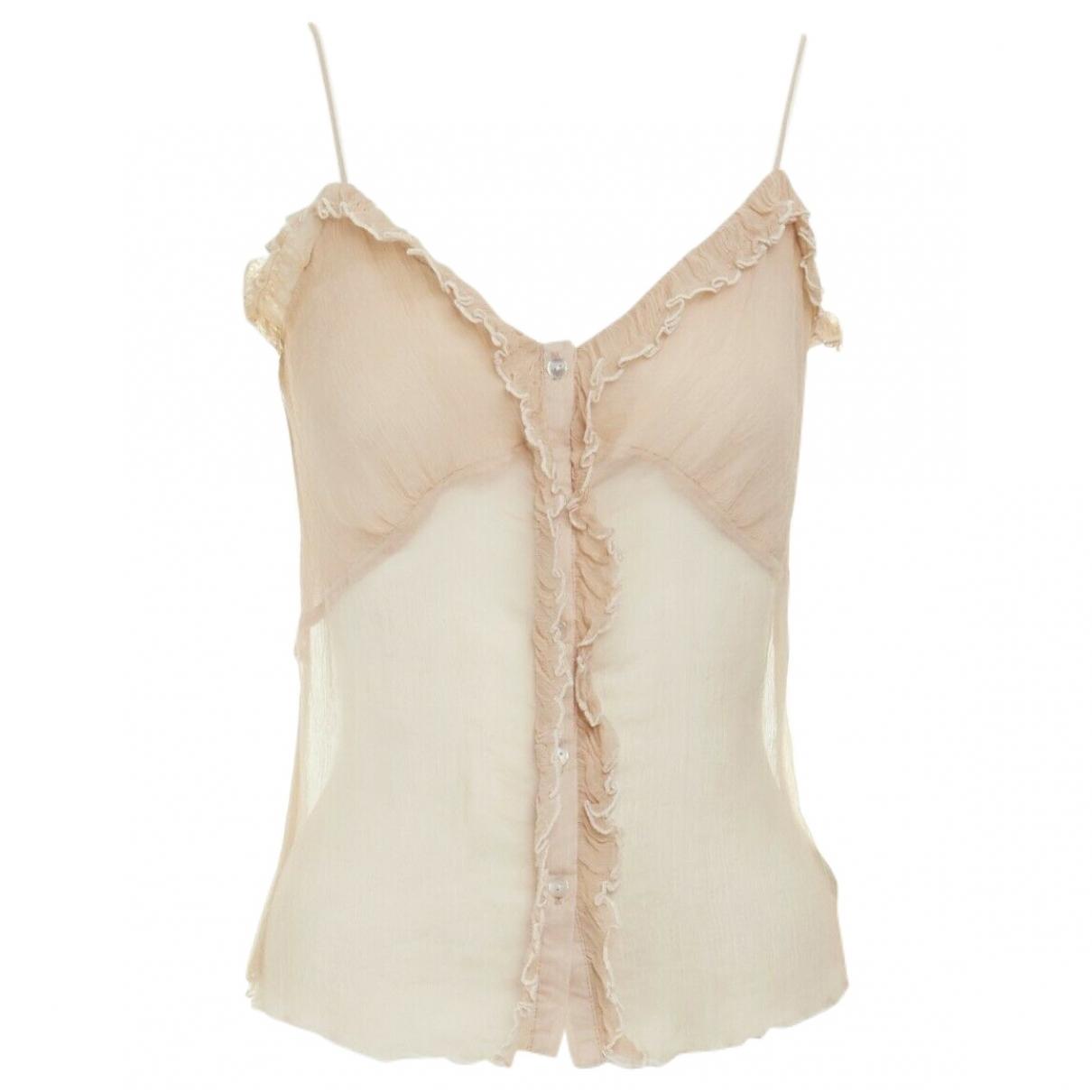 Marc Jacobs \N Beige Silk  top for Women 6 US