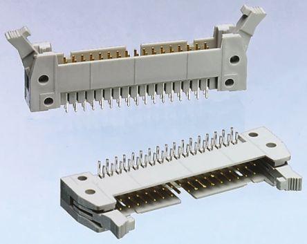 HARTING , SEK 18, 60 Way, 2 Row, Right Angle PCB Header