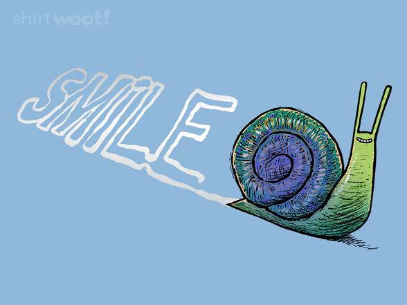 Slimey Smiley T Shirt