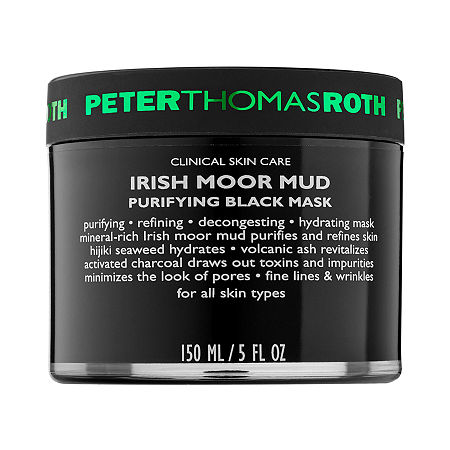 Peter Thomas Roth Irish Moor Mud Purifying Black Mask, One Size , No Color Family