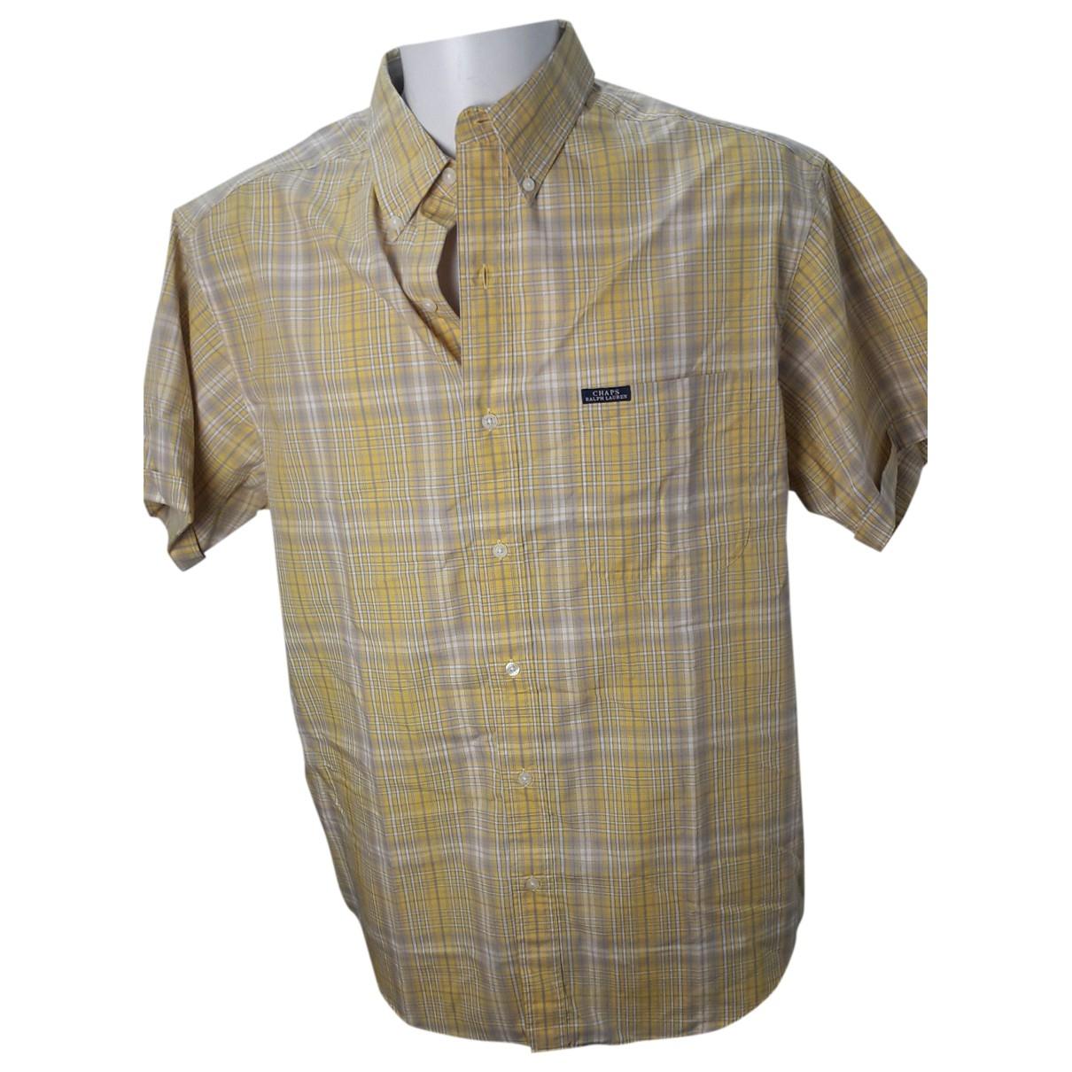 Ralph Lauren \N Yellow Cotton Shirts for Men L International