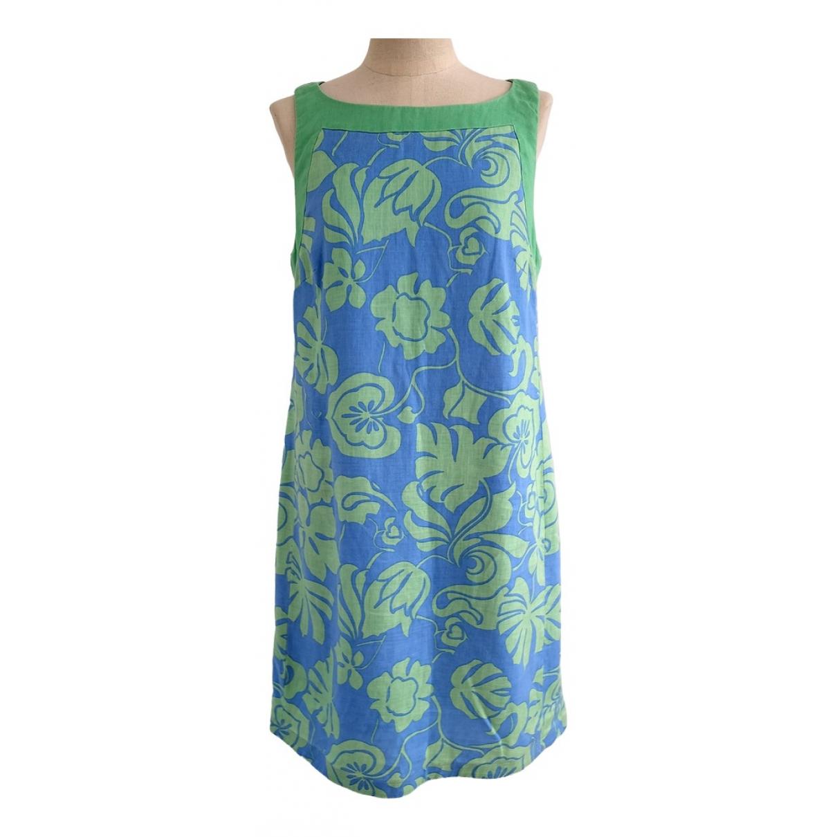 Gant - Robe   pour femme en lin - multicolore