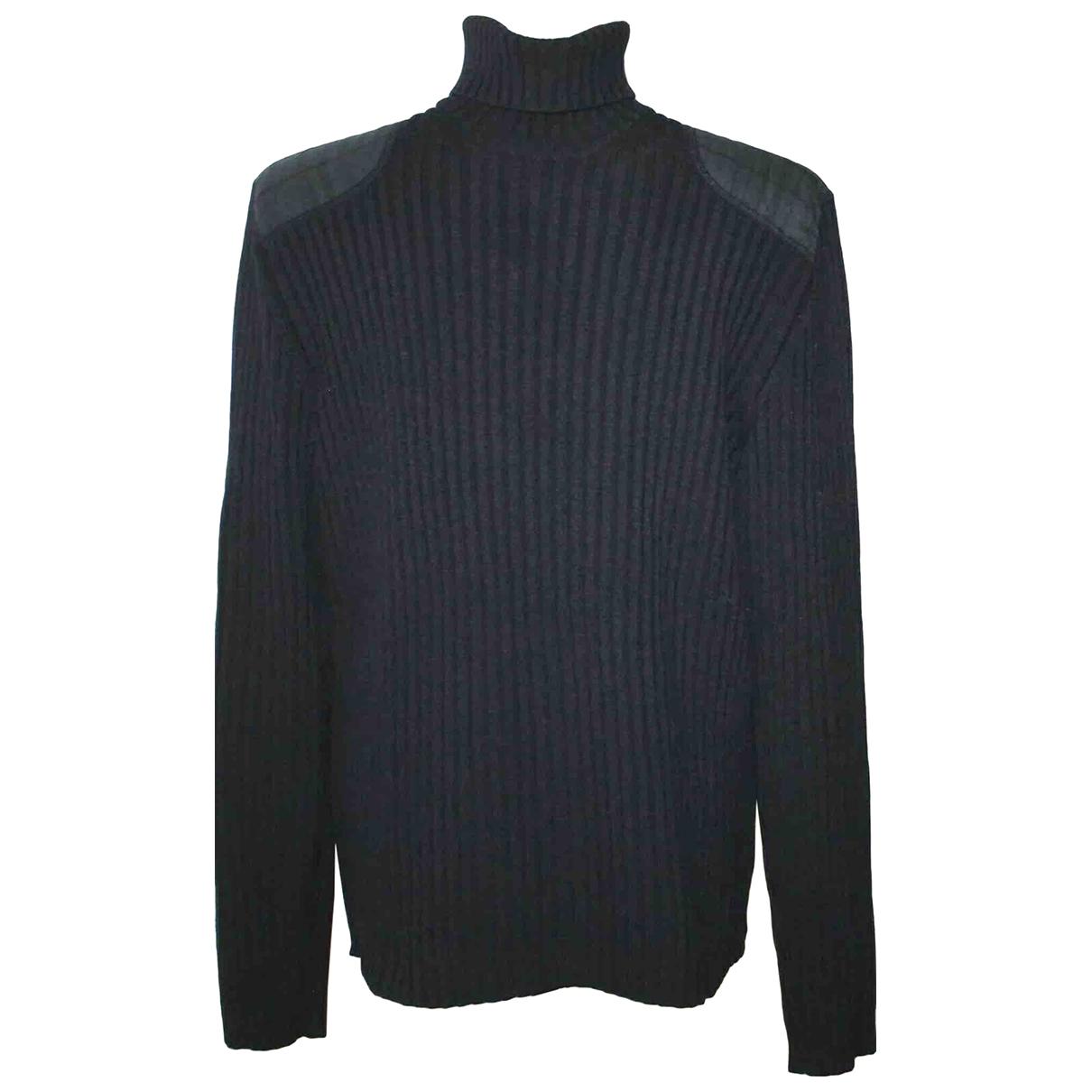 Burberry - Pulls.Gilets.Sweats   pour homme en laine - marine