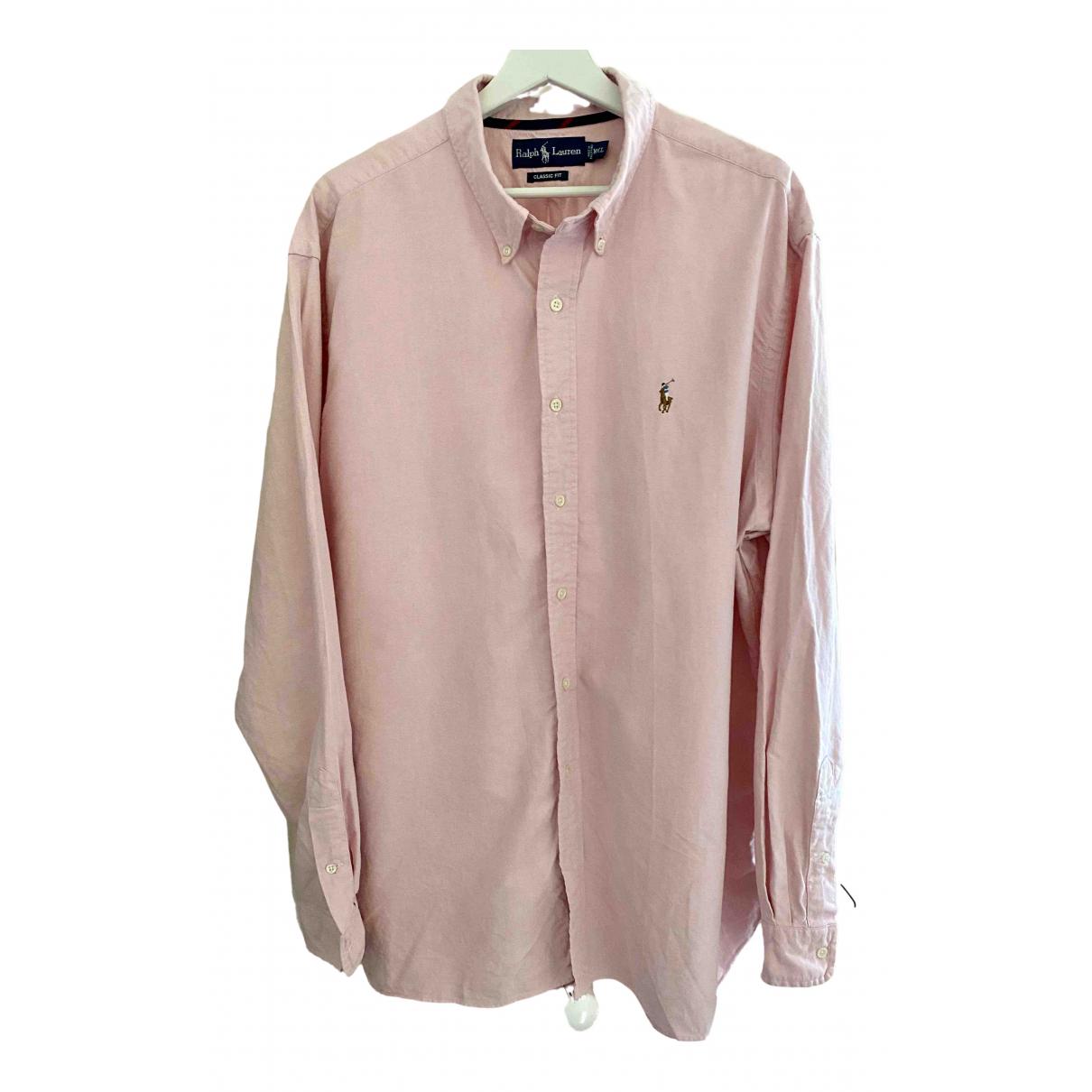 Ralph Lauren \N Hemden in  Rosa Baumwolle