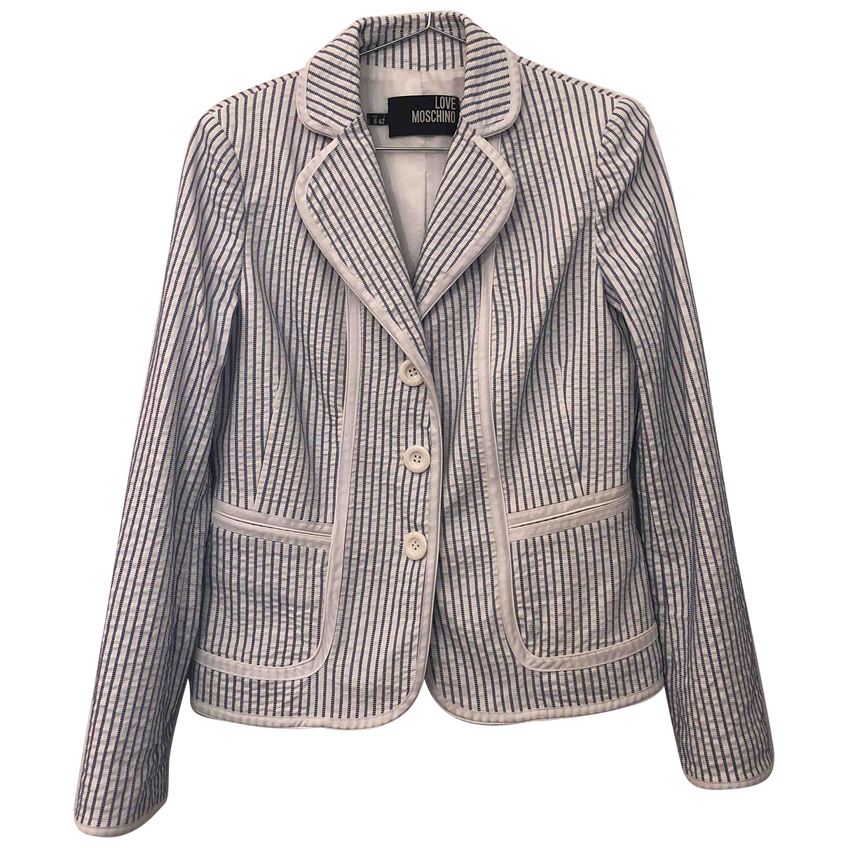 Moschino Love \N Multicolour Cotton jacket for Women 42 IT