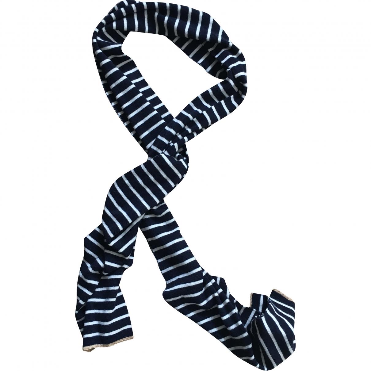 Chinti & Parker \N Blue Wool scarf for Women \N