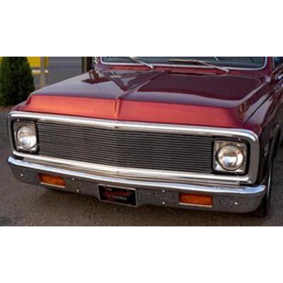 Carriage Works Billet Aluminum Grille Insert ( Black) - 40073