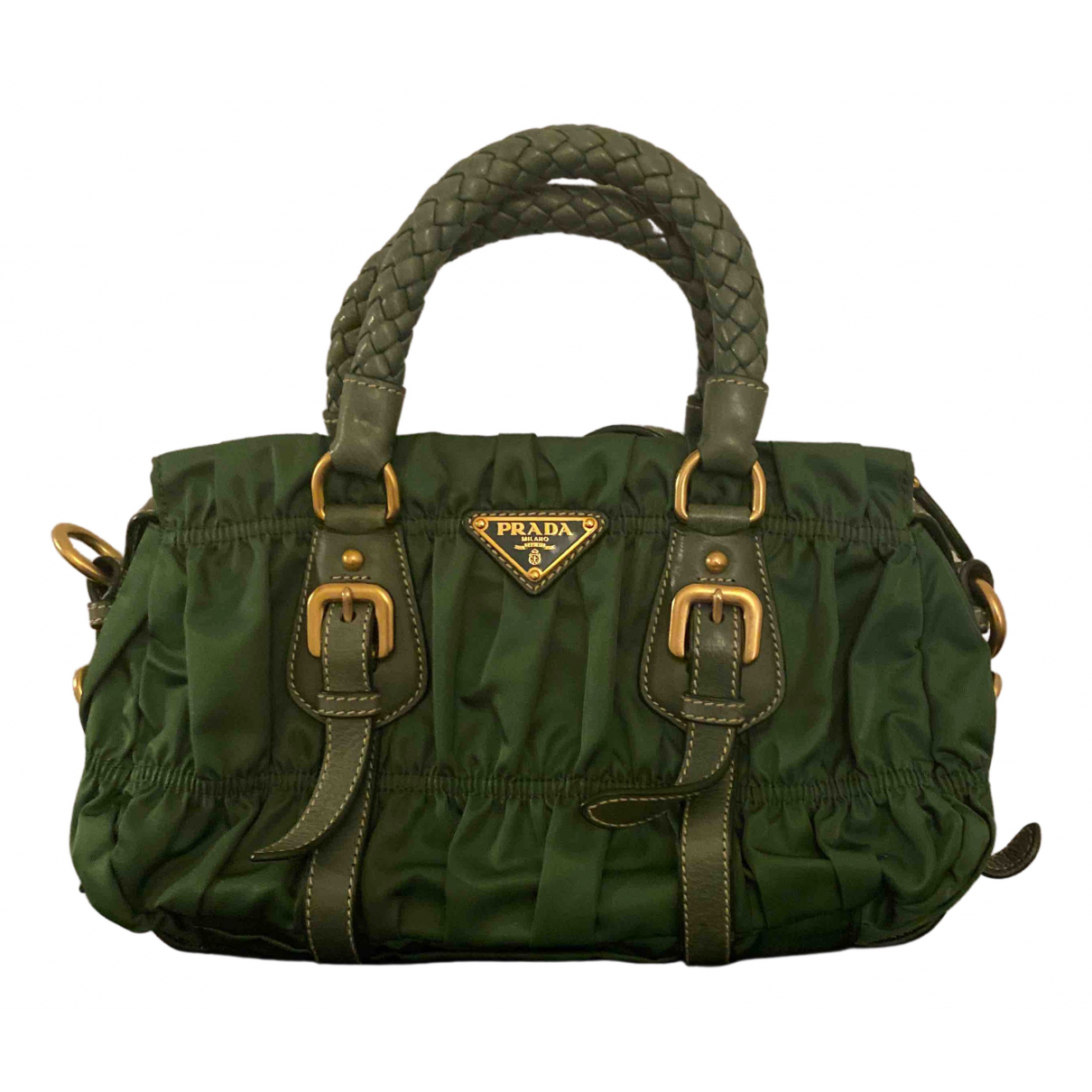 Prada N Green Cloth handbag for Women N