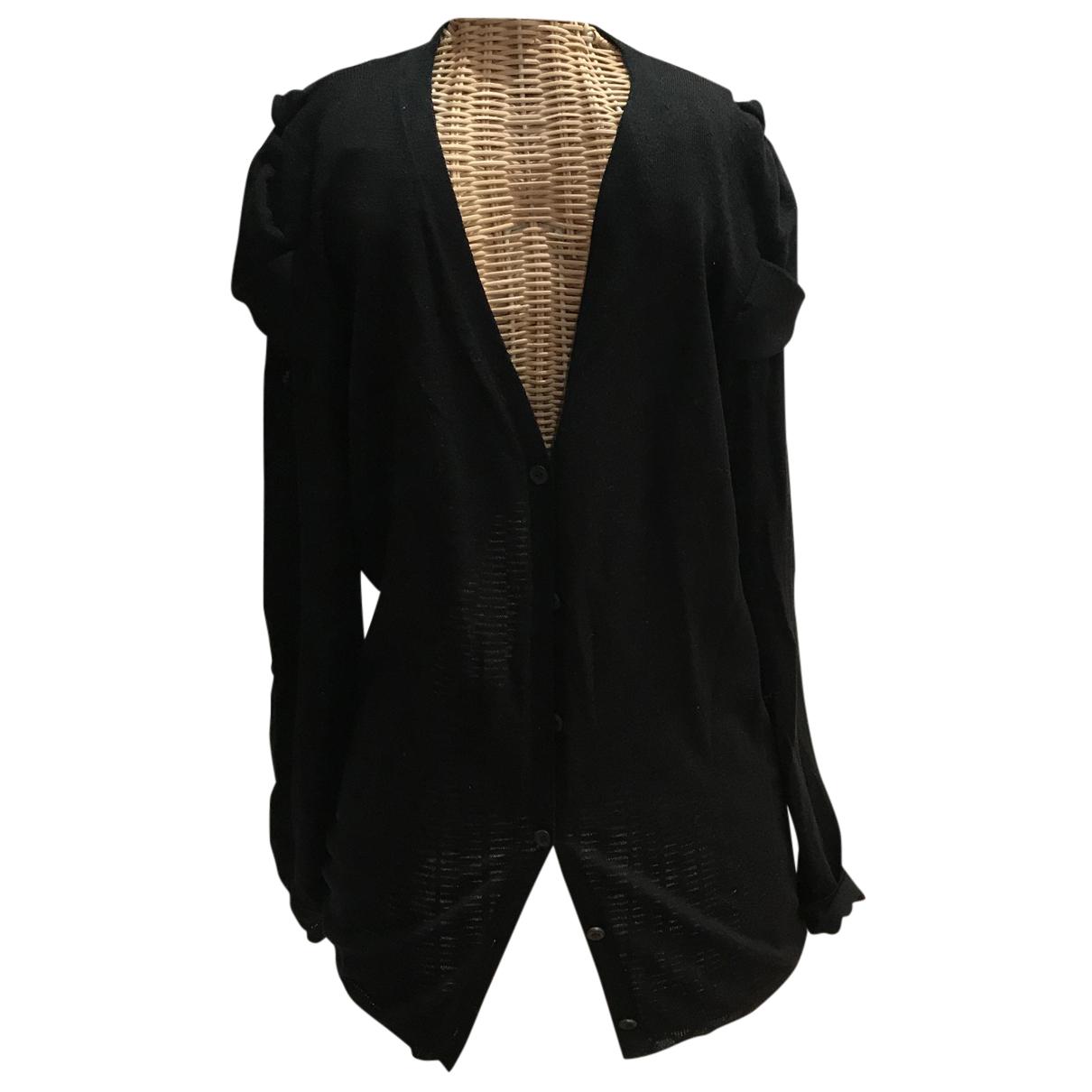 Prada N Black Wool Knitwear for Women 44 IT