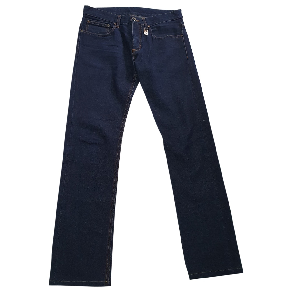 Dirk Bikkembergs \N Blue Cotton Jeans for Men 31 US