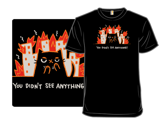 You Didnt See Anything T Shirt