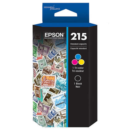Epson T215120-BCS cartouche d'encre originale noire et tri-couleur combo