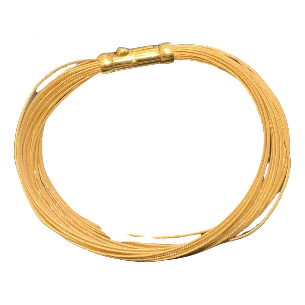 Tiffany & Co \N Armband in  Gelb Gelbgold