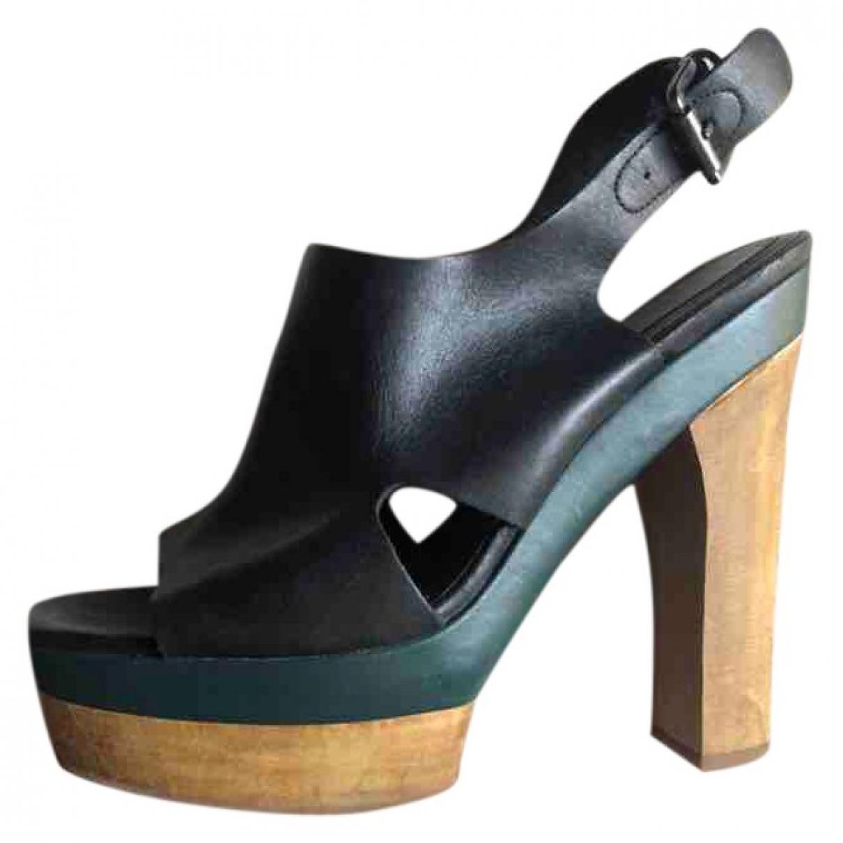 Marni For H&m - Escarpins   pour femme en cuir - noir