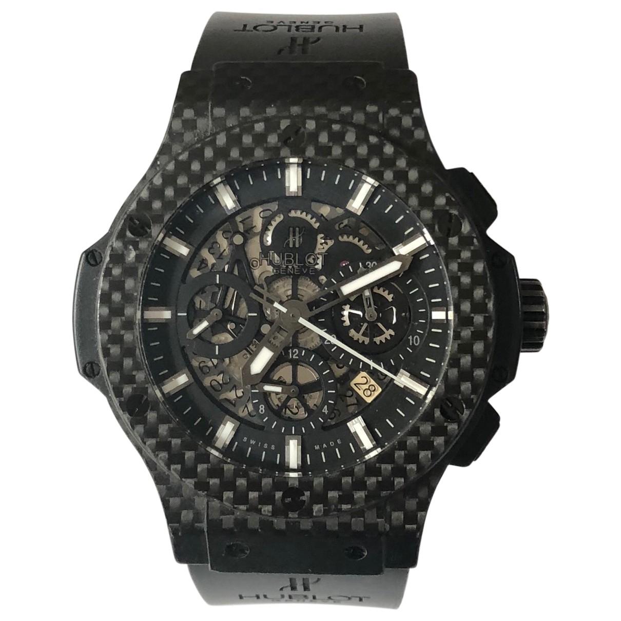 Hublot Big Bang  Black Steel watch for Men \N