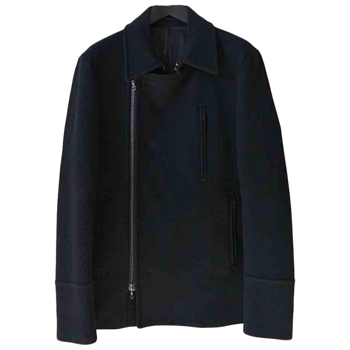 Attachment - Vestes.Blousons   pour homme en laine - noir