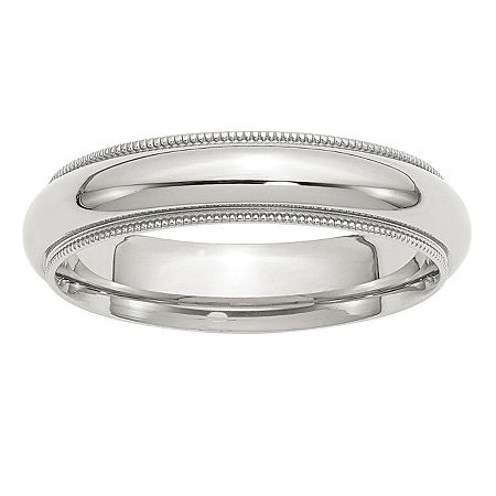 5MM Sterling Silver Wedding Band, 6 , No Color Family