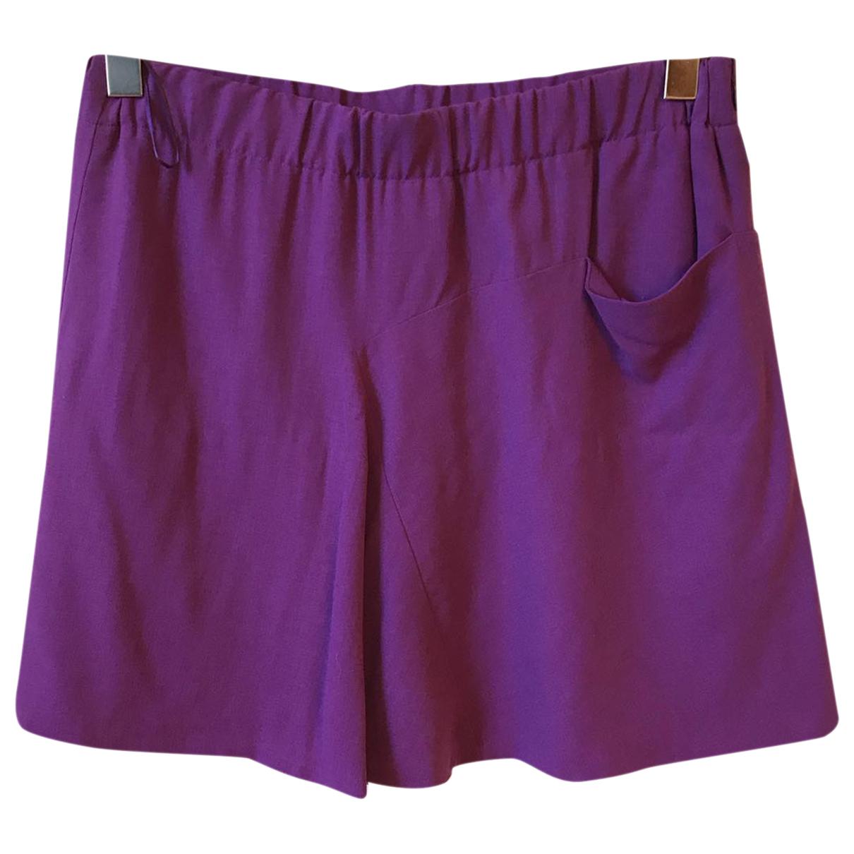 Chloe - Jupe   pour femme en soie - violet