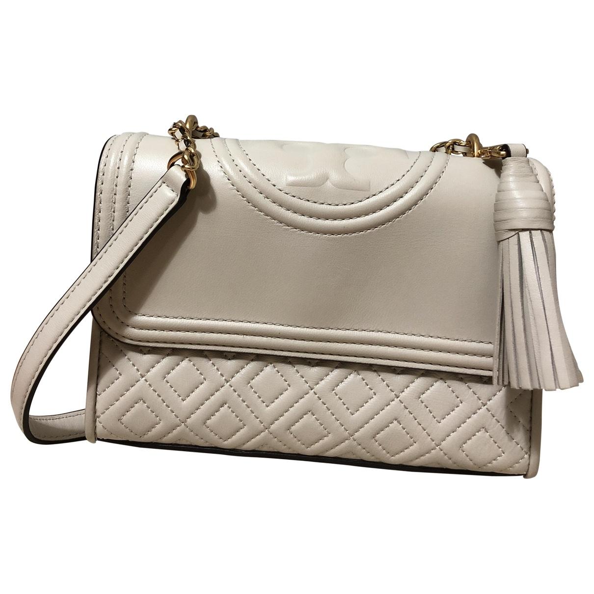 Tory Burch \N White Leather handbag for Women \N