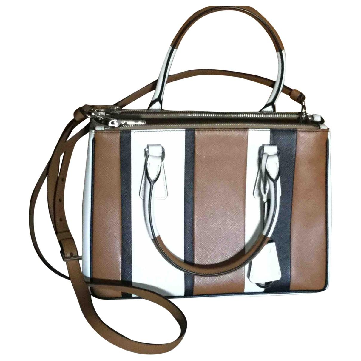 Prada Galleria Brown Leather handbag for Women \N