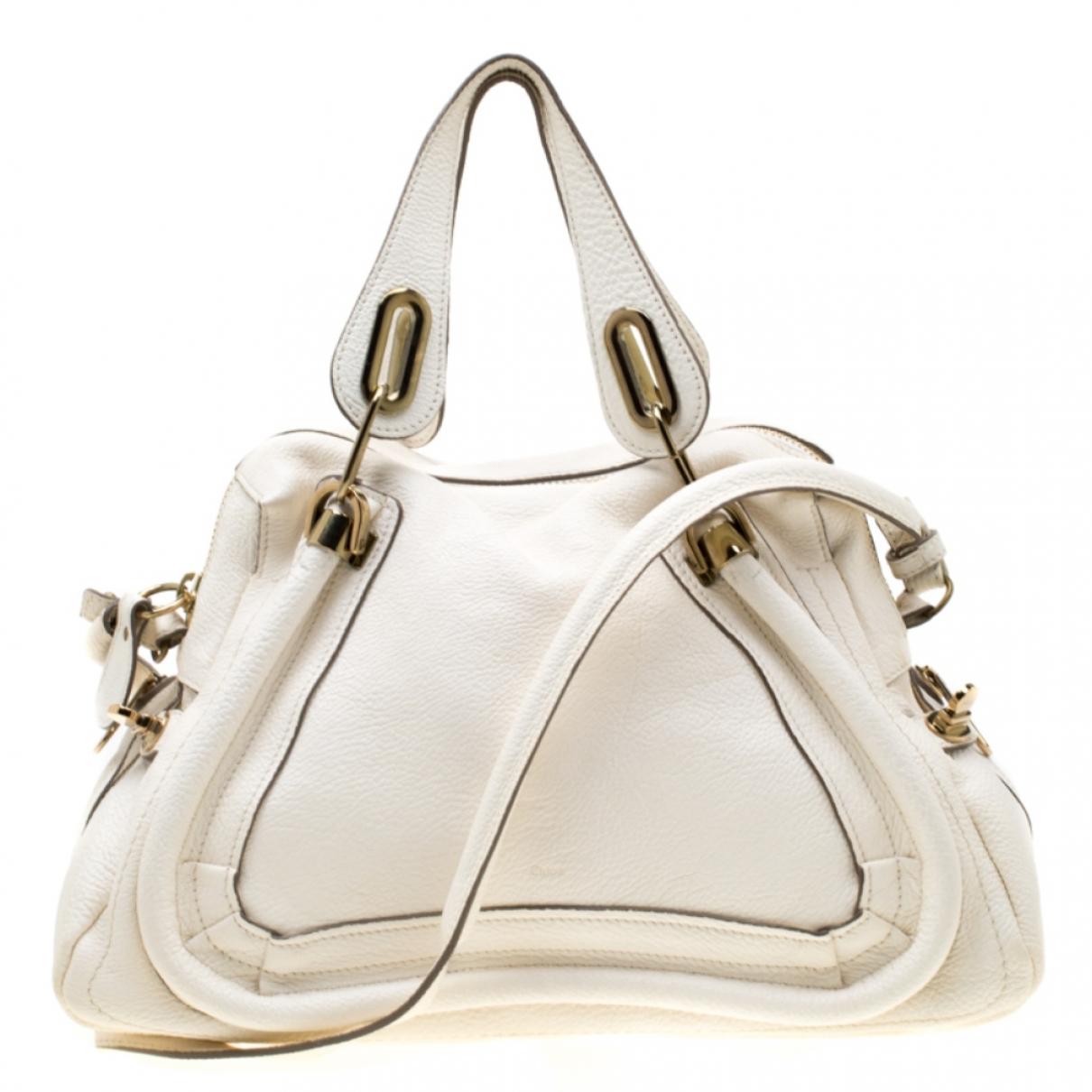 Chloé \N White Leather handbag for Women \N