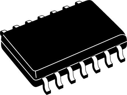 ON Semiconductor MM74HC00MX, Quad 2-Input NAND Logic Gate, 14-Pin SOIC (10)