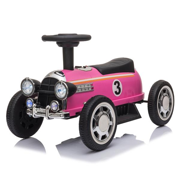 Kids Electric Ride On Car With Music Player LED Lights 6V - Pink