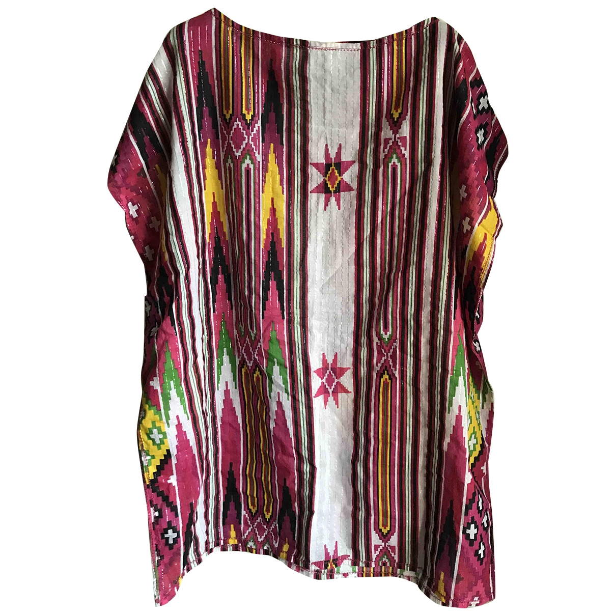 American Retro \N Multicolour Cotton dress for Women One Size International