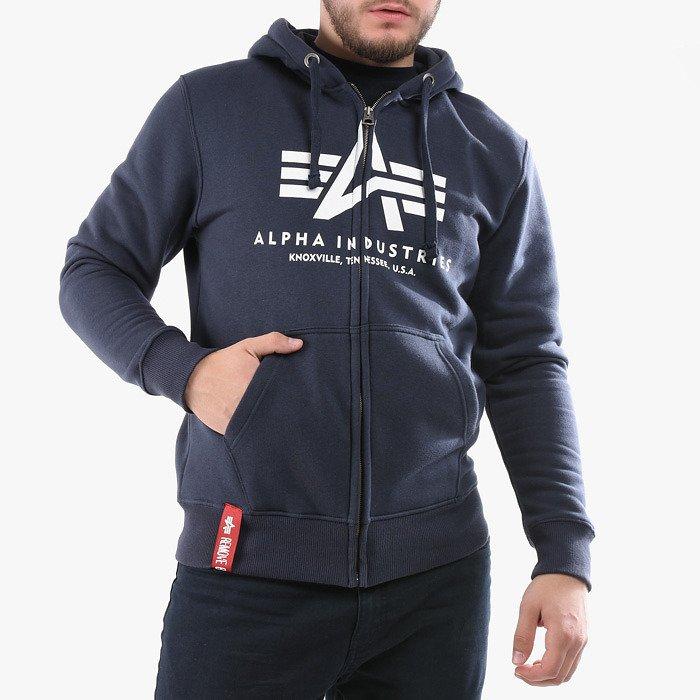 Alpha Industries Basic Zip Hoody 178325 02