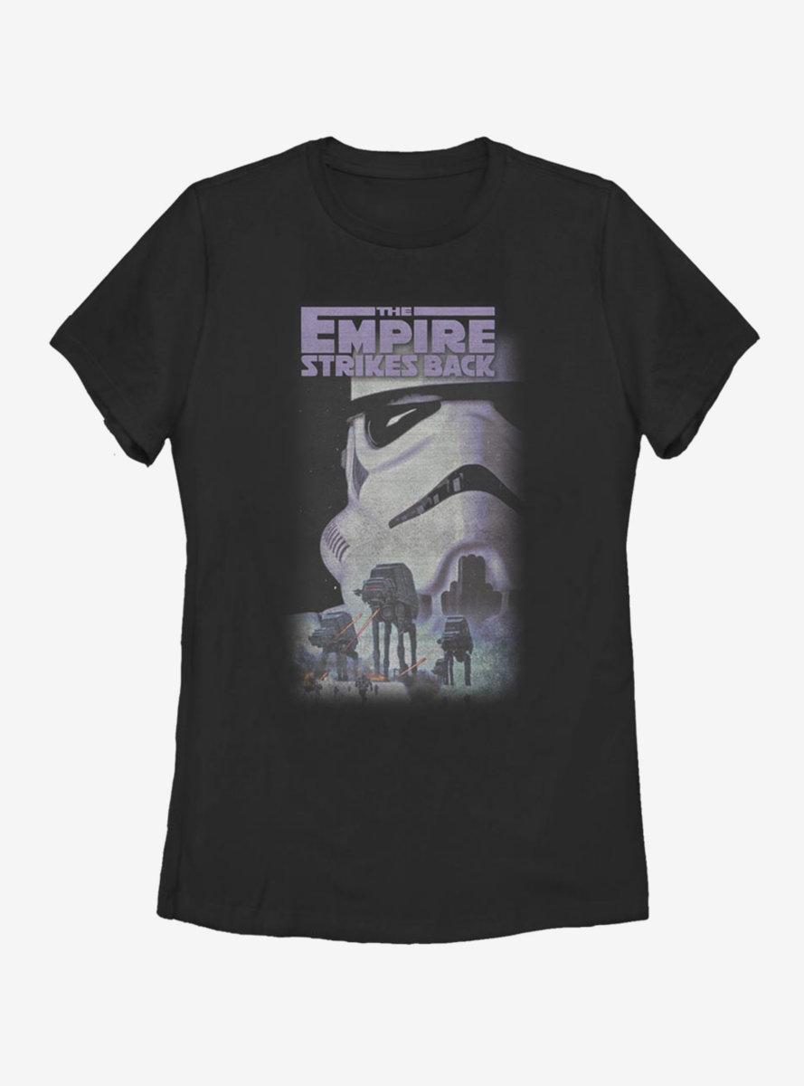 Star Wars Empire VHS Womens T-Shirt