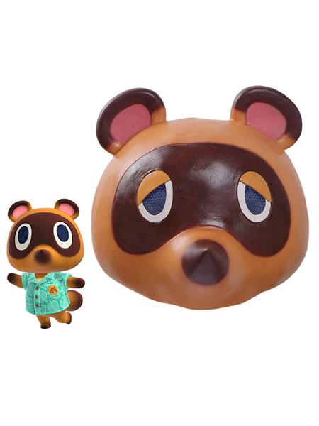 Milanoo Animal Crossing New Horizons Tom Nook Mask Cosplay Accessory Prop