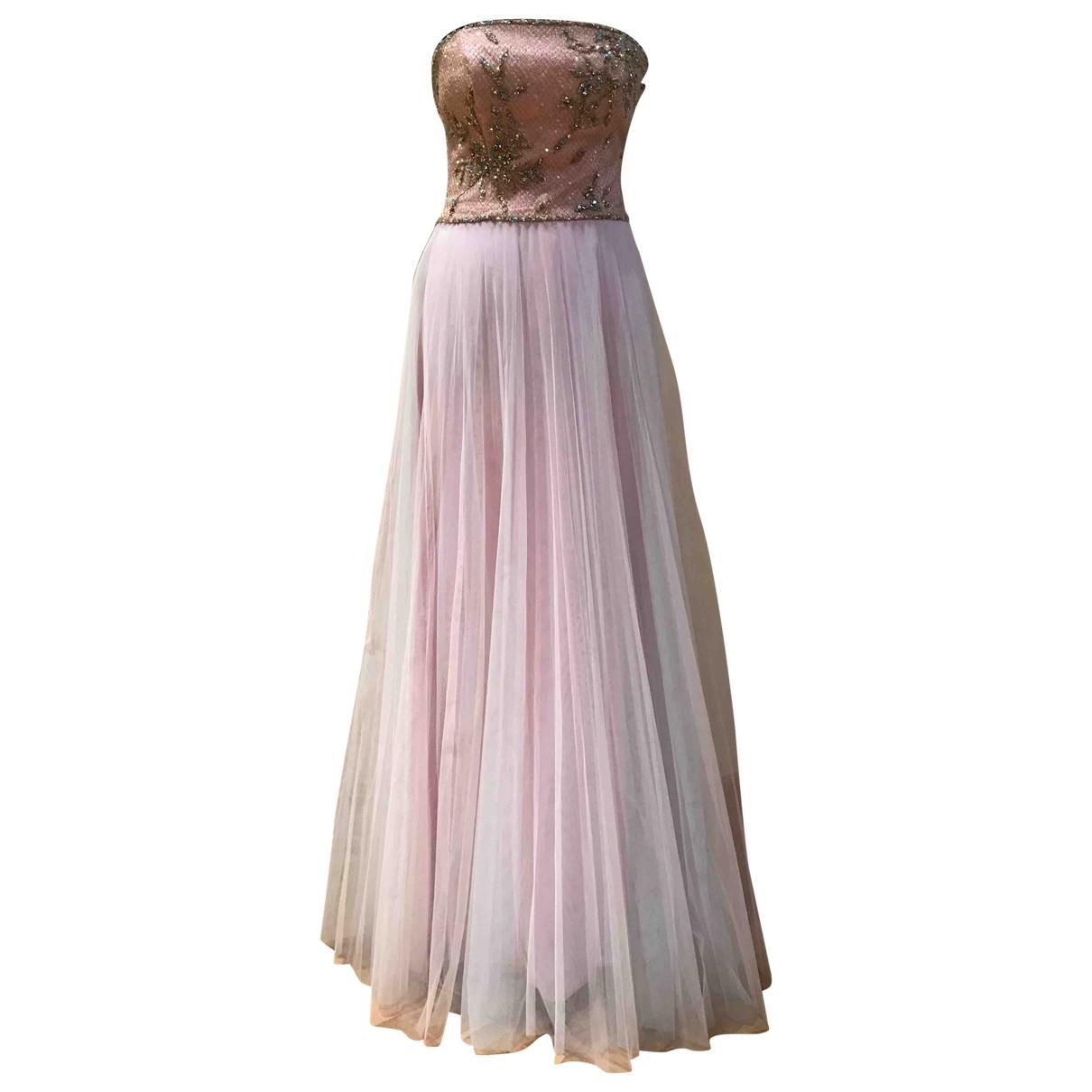 Escada \N Kleid in  Rosa Polyester