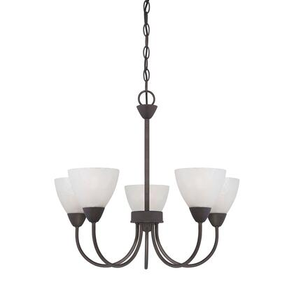 190006763 Tia 5-Light Chandelier in Painted