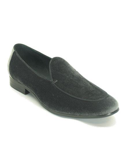 Mens Lace Up Shoe Grey