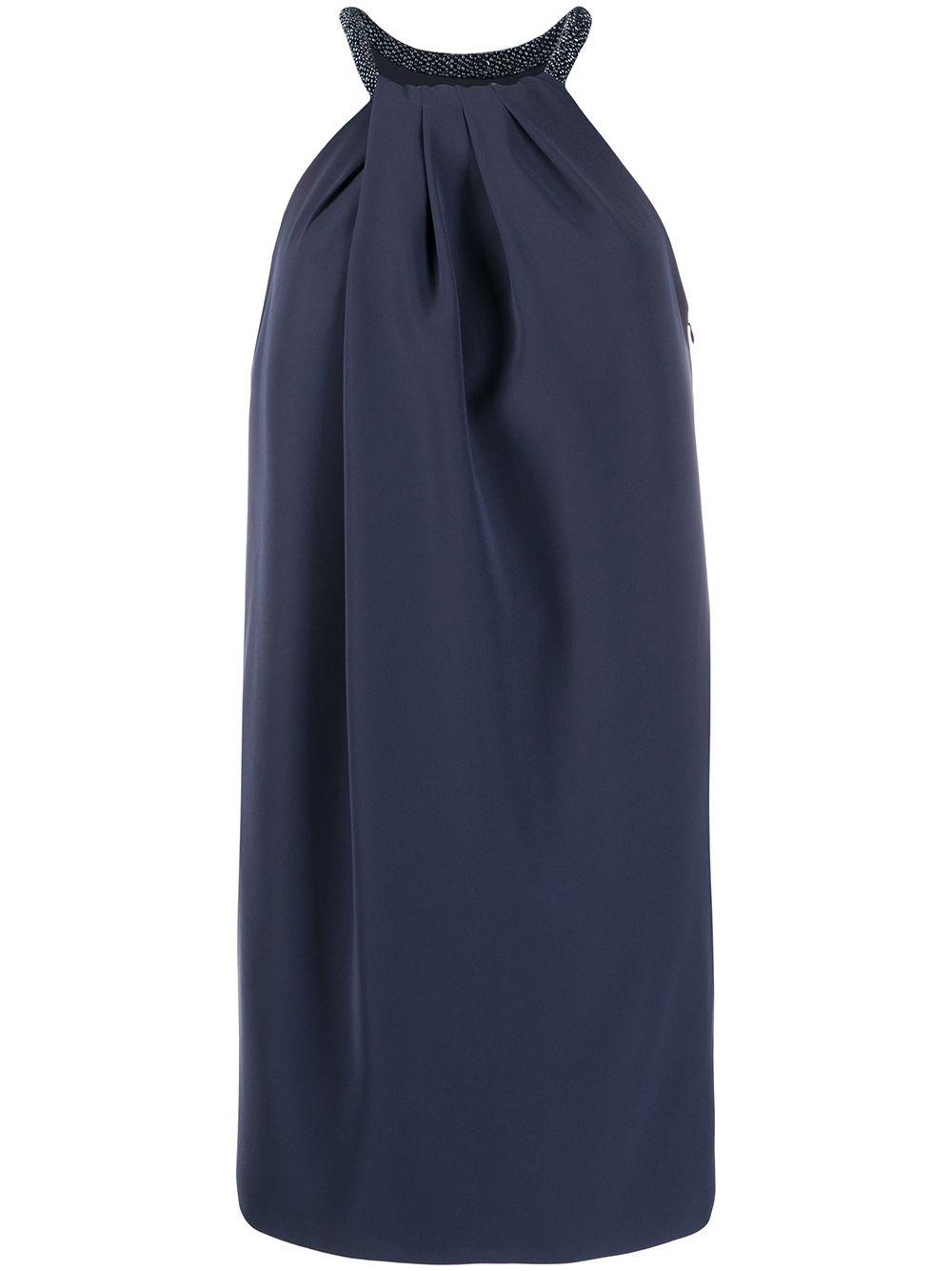 Tecno Cady Short Dress