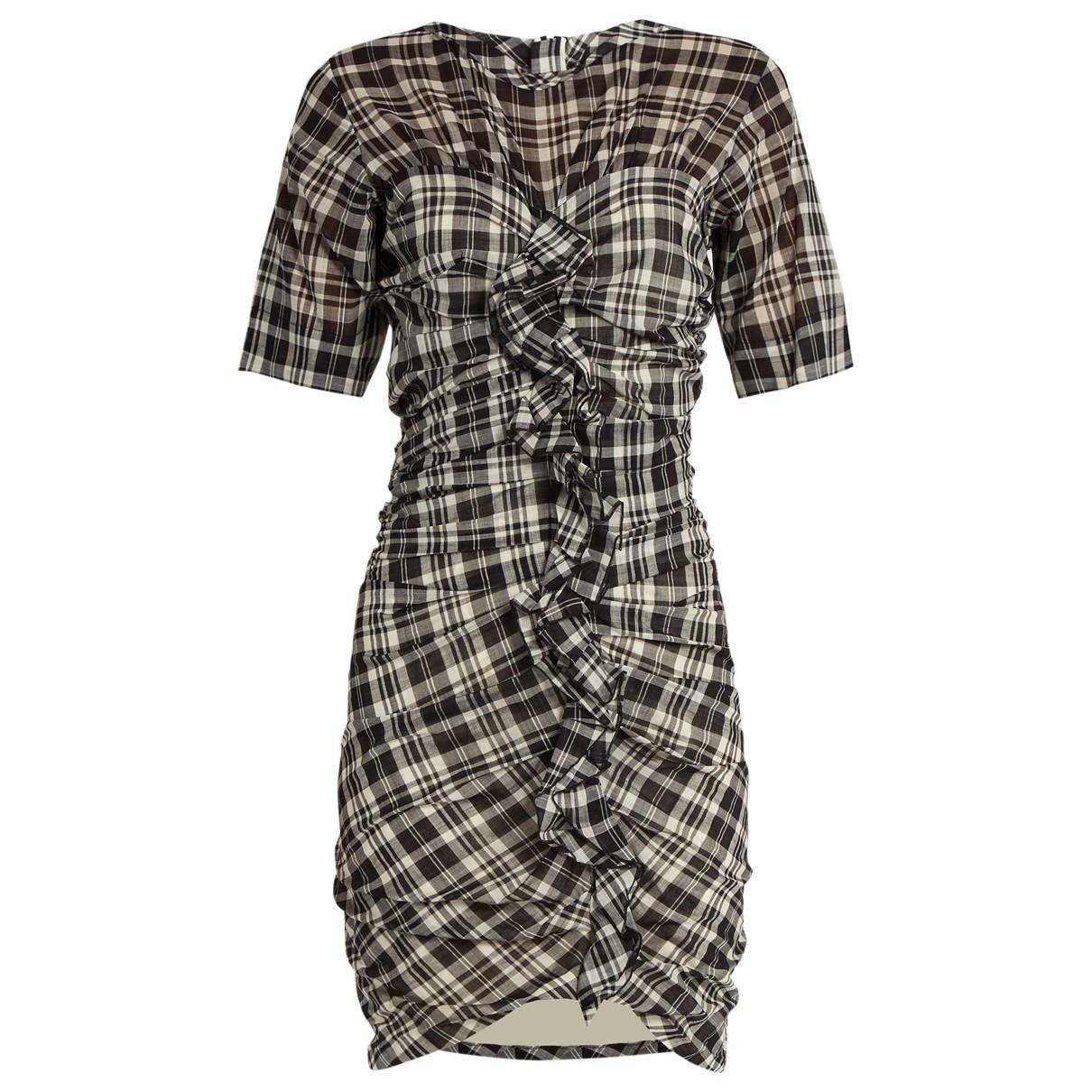 Isabel Marant Etoile - Robe   pour femme en coton - gris