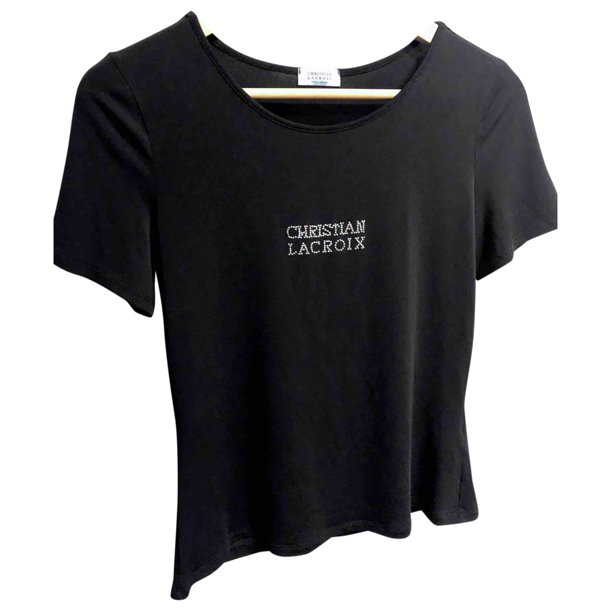 Christian Lacroix \N Black  top for Women 36 FR