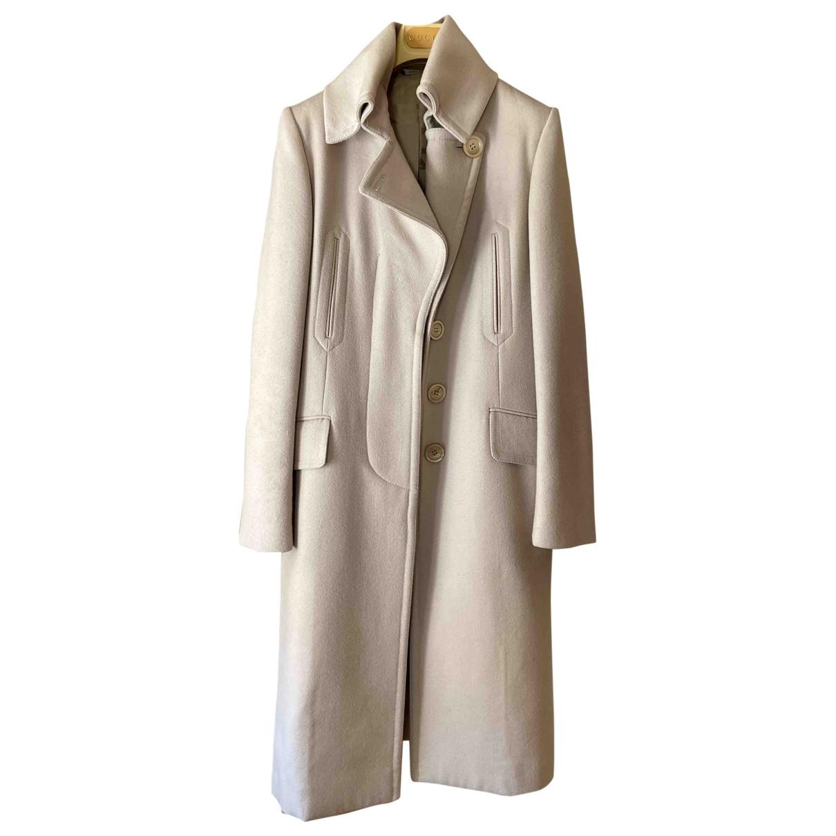 Gucci \N Maentel in  Grau Wolle