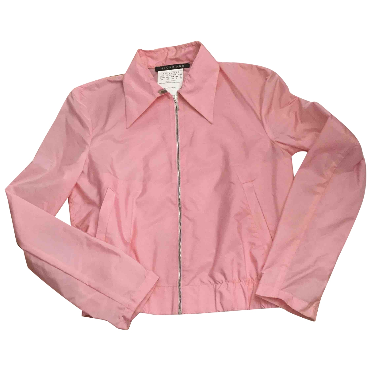 John Richmond \N Trench in  Rosa Polyester