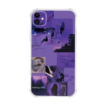 Letter & Figure Graphic iPhone Case