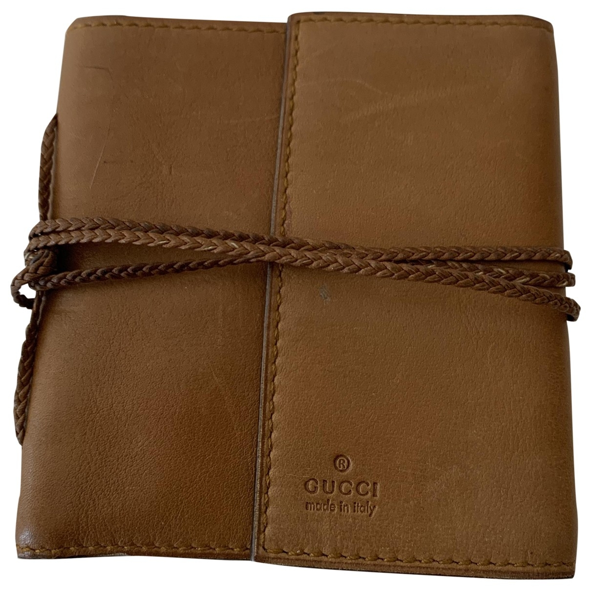 Gucci \N Brown Leather wallet for Women \N